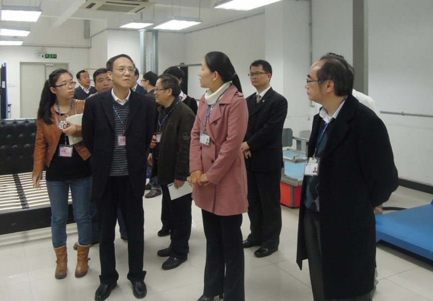Fujian Inspection and Research Institute for Product Quality visited STC (Dongguan)