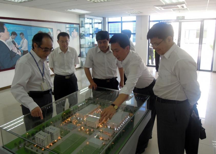 CNCA visited STC (Dongguan)