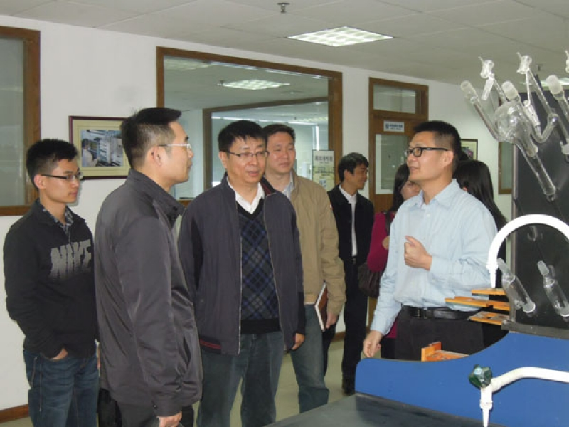省科技厅、外贸厅毛织调研小组到访东莞标检
