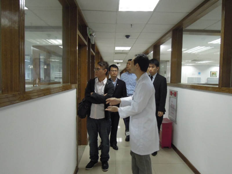 Franklin Electronic Press (Hongkong) Company Limited visited STC(Dongguan)