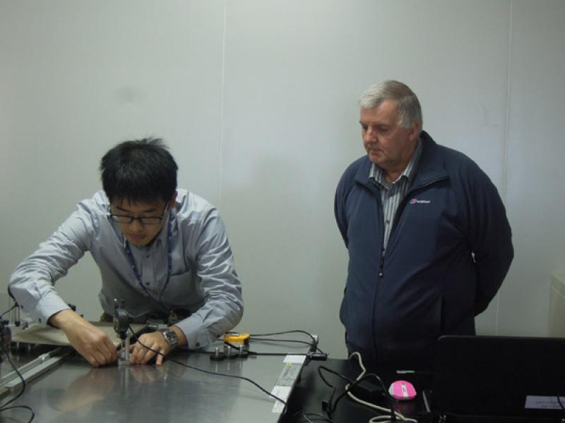 CERAM audited the ceramic laboratory of STC(Dongguan)