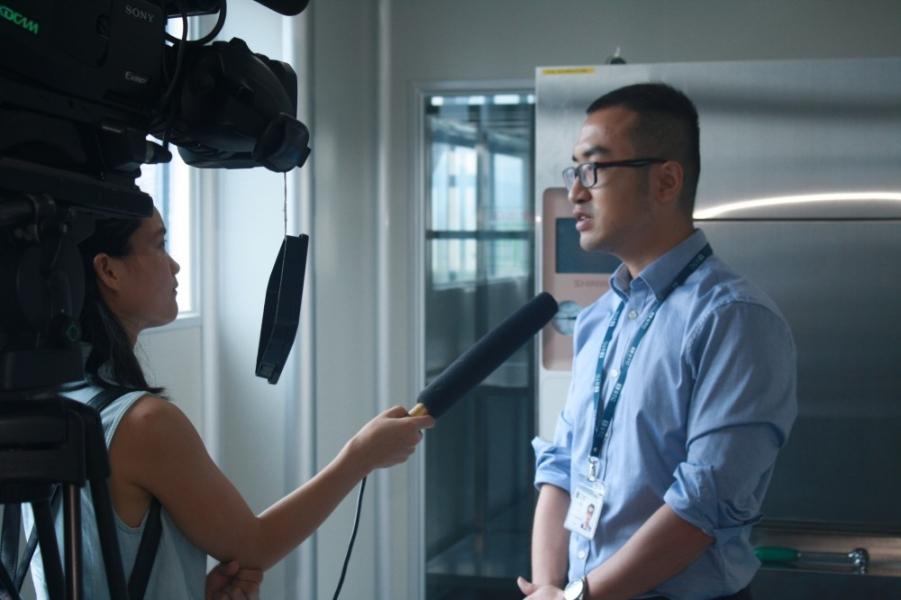 《大朗电视台》:东莞标检成立全市首家动物实验室