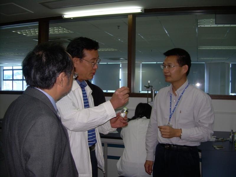 东莞市副市长冷晓明先生到访东莞标检