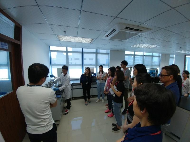 Marks & Spencer visited STC Dongguan