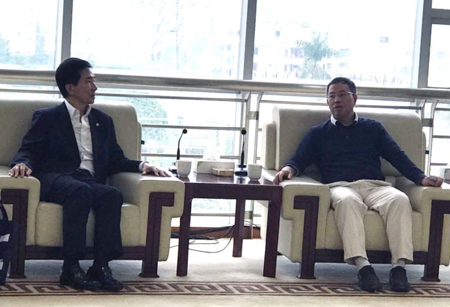 STC访问东莞市质量技术监督局