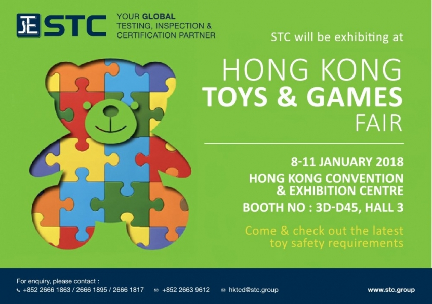 Hong Kong Toys and Games Fair 2018